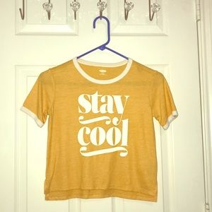 'Stay cool' kids shirt